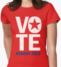 Vote Romney 2012 Women's Fitted T-Shirt