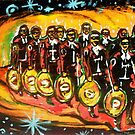 13 masked mariachis by johnny hancen