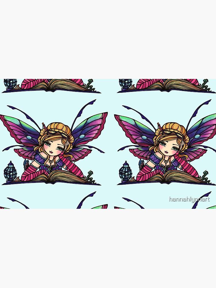 Bookworm Fairy by Hannah Lynn  by hannahlynnart