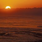 The Tidal Flats of Cook Inlet by Tim Grams