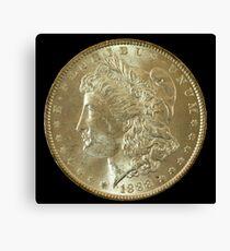 1888 Coin Canvas Print