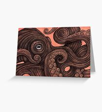 The Octopus Greeting Card