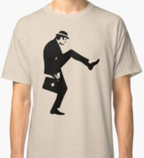 Silly Walk T-Shirt Monty Python Inspired, funny,Small to 2XL different colours Classic T-Shirt