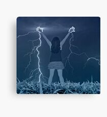 Electric Feel Canvas Print