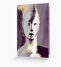 The Shadow Woman Greeting Card