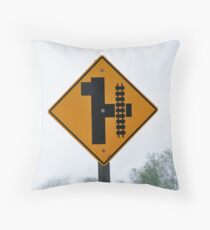 """""""H"""" Throw Pillow"""