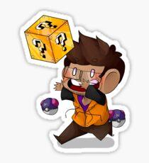 Lucky Blocks! Sticker