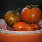 Home Grown Tomatoes by Jonice