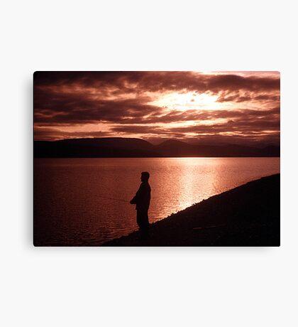 Yukon Evening Canvas Print