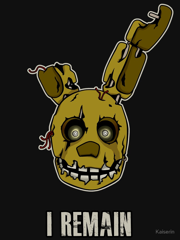 Five Nights at Freddy's - FNAF 3 - Springtrap - I Remain by Kaiserin