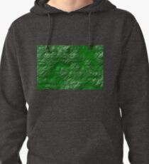 A Crumpled Green design for everything Pullover Hoodie