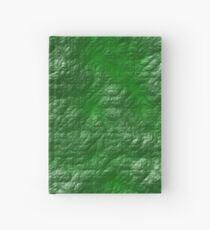 A Crumpled Green design for everything Hardcover Journal