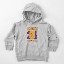 Kobe Bryant 824 Toddler Pullover Hoodie