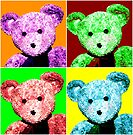 Big Ted Pop Art by Astrid Ewing Photography