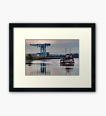 PS Waverley @ Clydebank Titan Framed Print