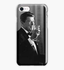 President Reagan Making A Toast iPhone Case/Skin