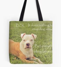 A Definition Of Breed Specific Legislation Tote Bag