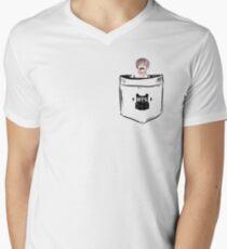 BTS/Bangtan Sonyeondan - Pocket V (Kim Taehyung) Men's V-Neck T-Shirt