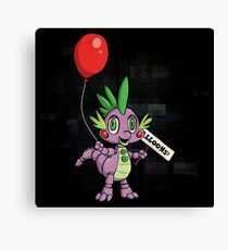 My Little Pony - MLP - FNAF - Spike Animatronic Canvas Print