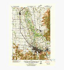 USGS Topo Map Oregon Eugene 282482 1940 62500 Photographic Print