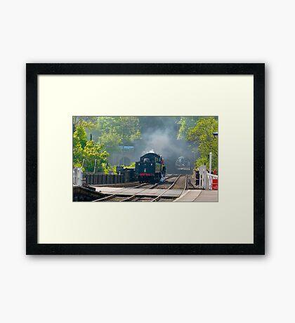 Grosmont Station Framed Print