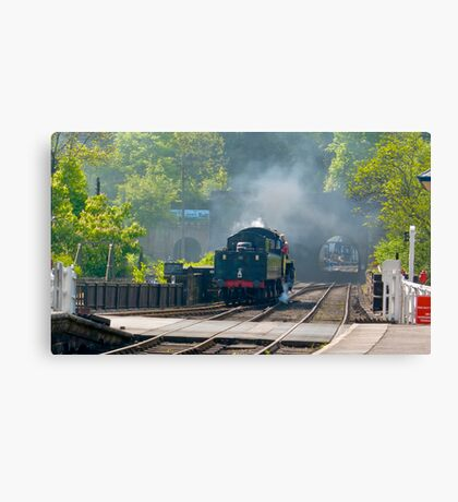 Grosmont Station Canvas Print