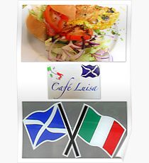 Cafe Luisa Poster