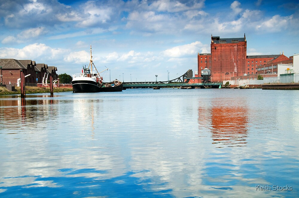 Alexandra dock Grimsby by Keith Stocks