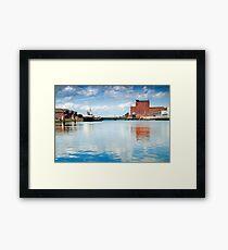 Alexandra dock Grimsby Framed Print
