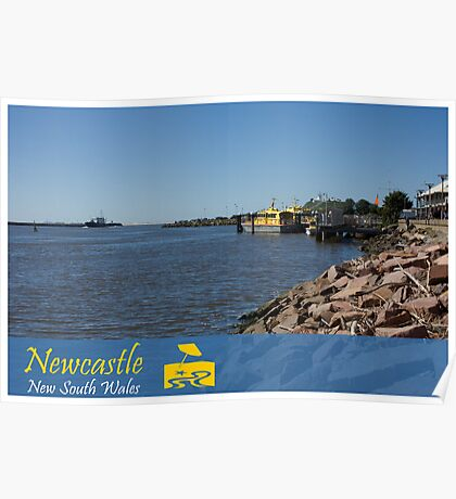 Hunter River View Poster