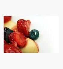 Healthy Treat Photographic Print
