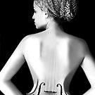 il violinista corde by Morpho  Pyrrou