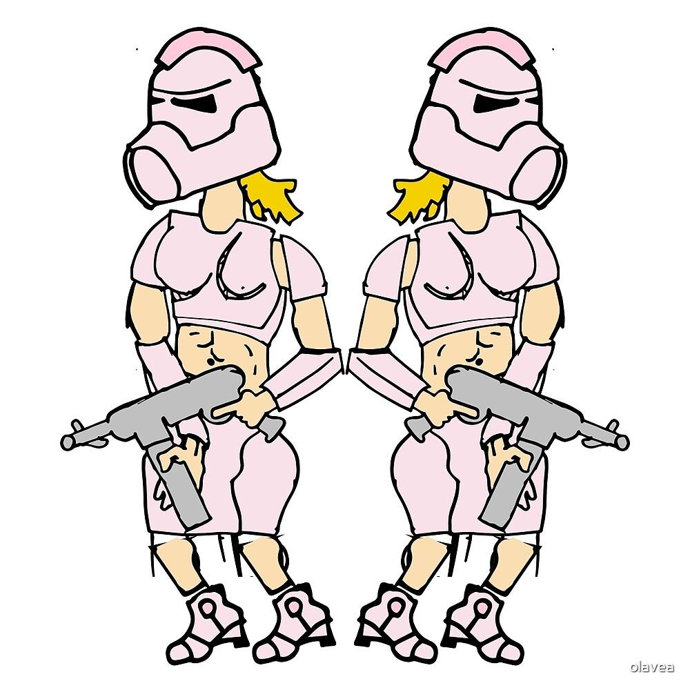 Pink Trooper by olavea