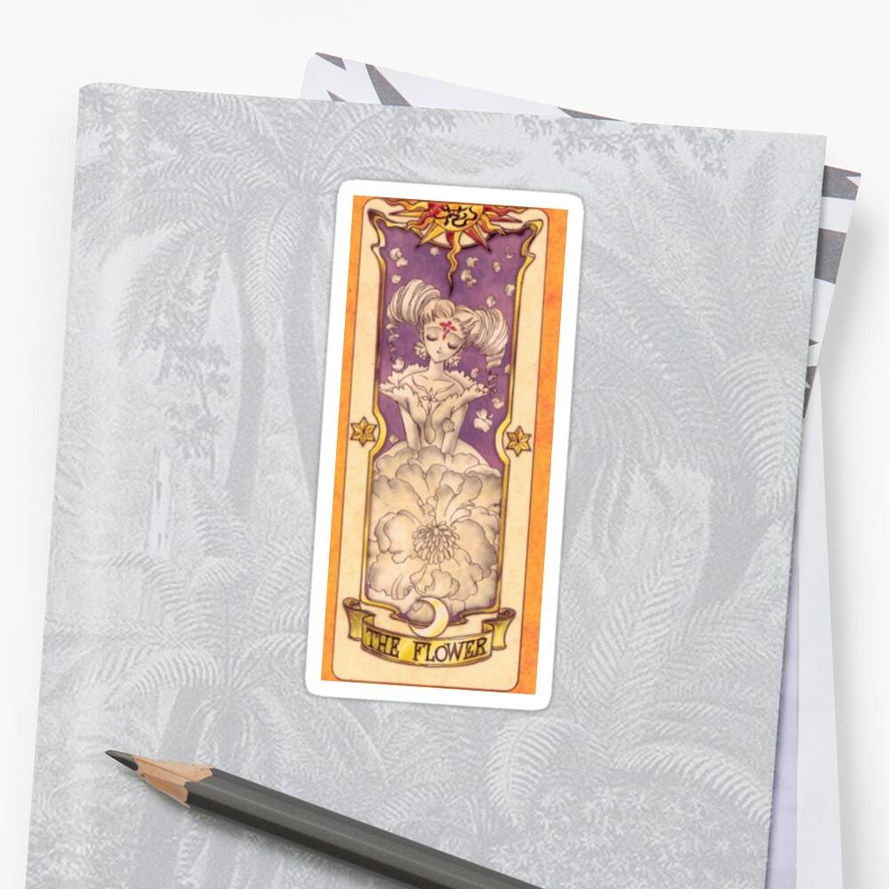 "Clow card ""The Flower"" by Sci-mpli"