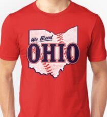 We Bleed Ohio - Logo Tribe Red Unisex T-Shirt