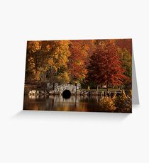 Twin Brooks in the Autumn Greeting Card