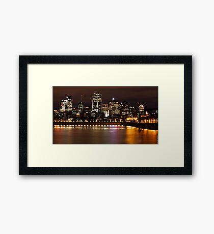 My City Framed Print