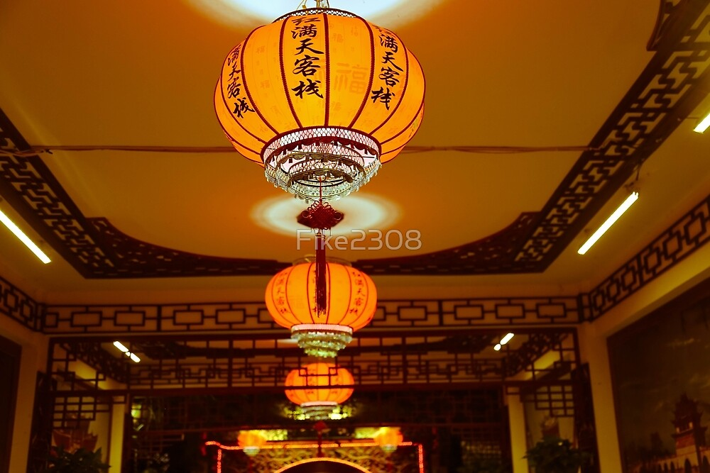 Traditional Chinese Lanterns by Fike2308