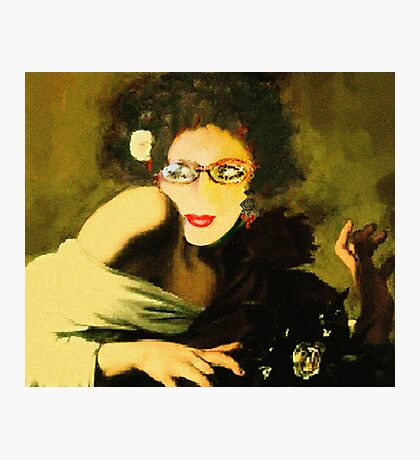 MyFannyGallery( Today mourns Caravaggio) Photographic Print