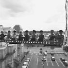 Lunchtime atop a Block of Flats by Coyroy