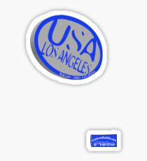 usa la logo by ian rogers Sticker