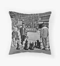 Big Boy Chess Throw Pillow