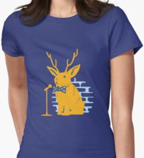 The Rare and Elusive Jokealope Womens Fitted T-Shirt