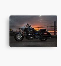 Sunset Rider Canvas Print