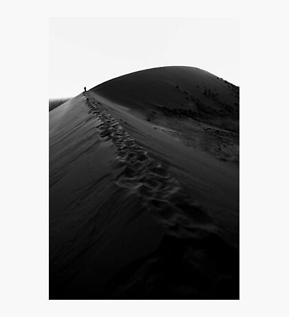 These Tracks Will Fade In The Sand Photographic Print