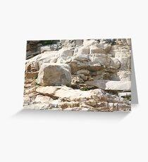 Rock Sculptures Greeting Card