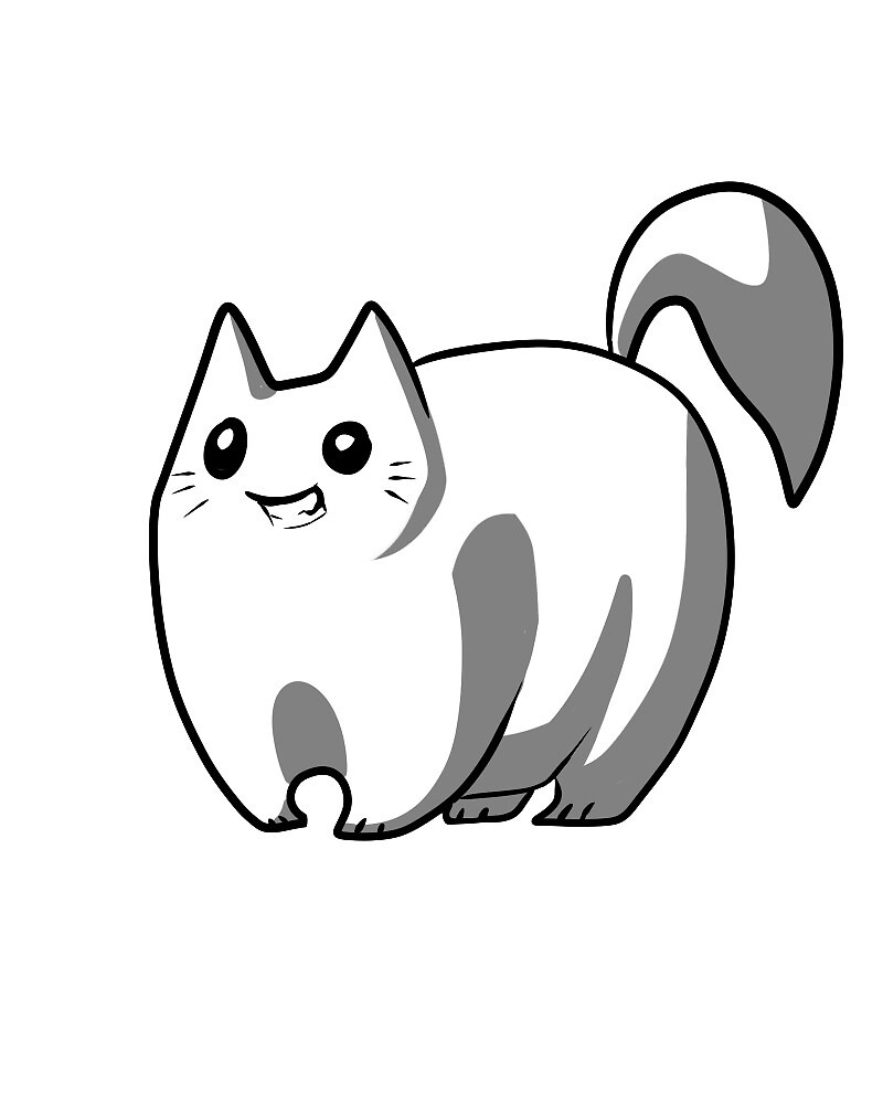 Cat by Acterale