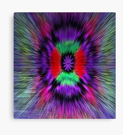 The Power Of A Flower Canvas Print