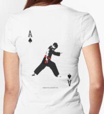 Silat Pose T-shirt - Kardar A Womens Fitted T-Shirt