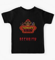 Five Nights at Freddy's - FNAF 3 - Fazbear's Fright Security Kids Tee